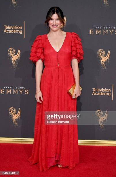Kathryn Hahn attends day 2 of the 2017 Creative Arts Emmy Awards on September 10 2017 in Los Angeles California