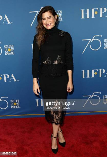 Kathryn Hahn attends Hollywood Foreign Press Association Hosts Television Game Changers Panel Discussion at The Paley Center for Media on October 26...