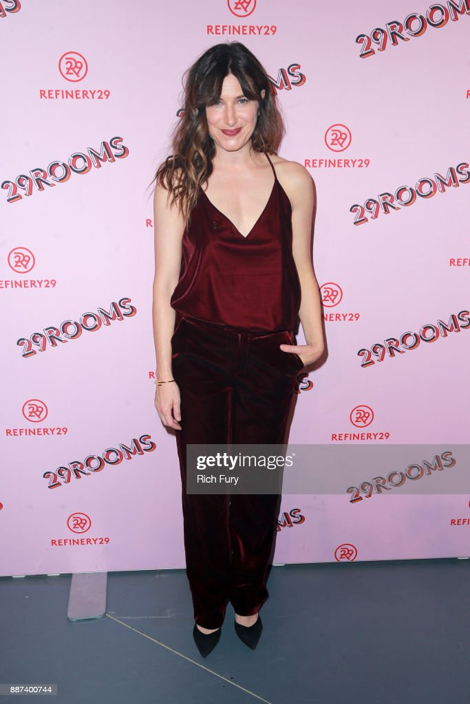 Kathryn Hahn attends Refinery29 29Rooms Los Angeles: Turn It Into Art Opening Night Party at ROW DTLA on December 6, 2017 in Los Angeles, California.