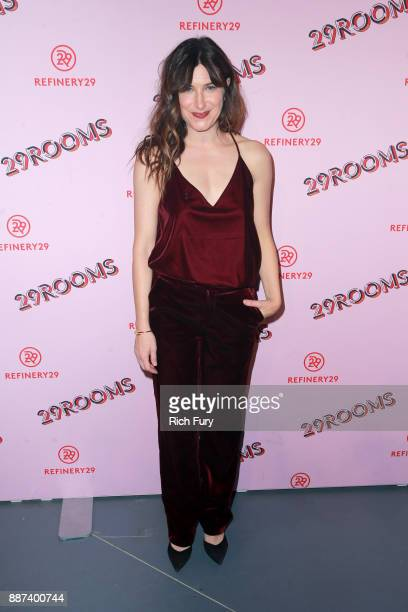 Kathryn Hahn attends Refinery29 29Rooms Los Angeles Turn It Into Art Opening Night Party at ROW DTLA on December 6 2017 in Los Angeles California