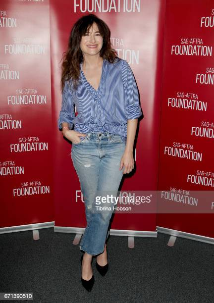 Kathryn Hahn attends SAGAFTRA Foundation's Conversations Series at SAGAFTRA Foundation Screening Room on April 21 2017 in Los Angeles California
