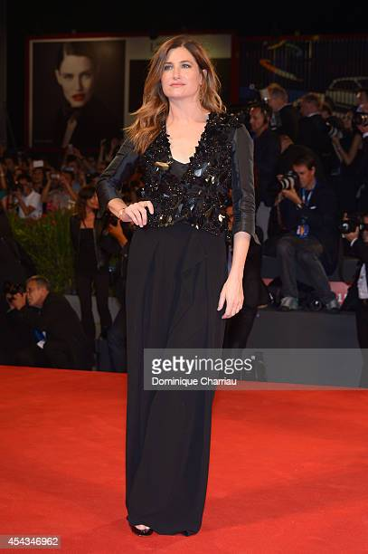 Kathryn Hahn attends 'She's Funny That Way' Premiere during the 71st Venice Film Festival at Sala Grande on August 29 2014 in Venice Italy