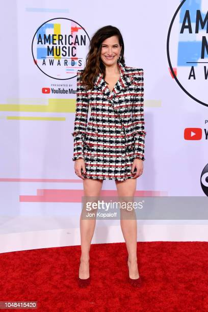 Kathryn Hahn attends the 2018 American Music Awards at Microsoft Theater on October 9 2018 in Los Angeles California