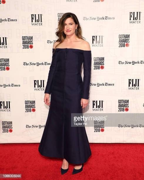 Kathryn Hahn attends the 2018 Gotham Awards at Cipriani Wall Street on November 26 2018 in New York City