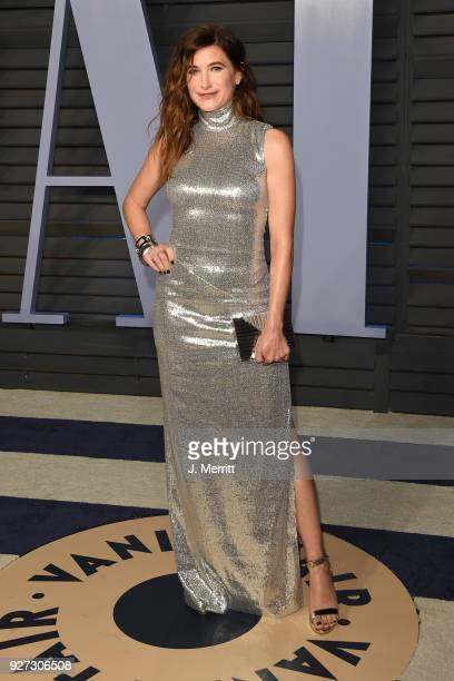 Kathryn Hahn attends the 2018 Vanity Fair Oscar Party hosted by Radhika Jones at the Wallis Annenberg Center for the Performing Arts on March 4 2018...