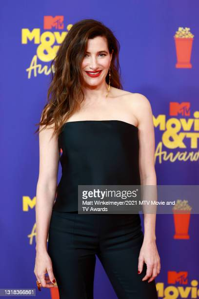 Kathryn Hahn attends the 2021 MTV Movie & TV Awards at the Hollywood Palladium on May 16, 2021 in Los Angeles, California.