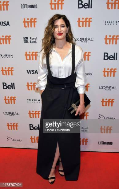 Kathryn Hahn attends the Mrs Fletcher premiere during the 2019 Toronto International Film Festival at TIFF Bell Lightbox on September 10 2019 in...