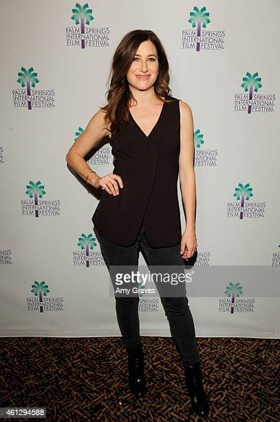 Kathryn Hahn attends the North American Premiere of She's Funny That Way during the 26th Annual Palm Springs International Film Festival at The...
