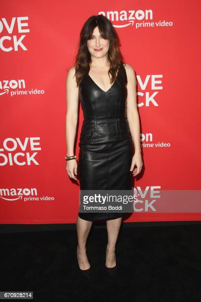 Kathryn Hahn attends the Premiere Of Amazon's 'I Love Dick' at Linwood Dunn Theater on April 20 2017 in Los Angeles California
