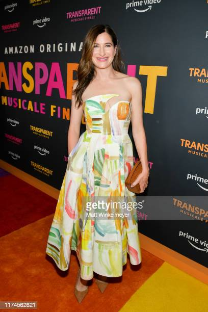"""Kathryn Hahn attends the LA premiere of Amazon's """"Transparent Musicale Finale"""" at Regal LA Live on September 13, 2019 in Los Angeles, California."""
