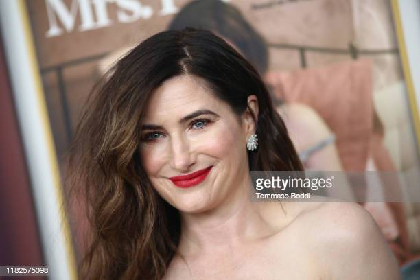 """Kathryn Hahn attends the Premiere Of HBO's """"Mrs. Fletcher"""" at Avalon Hollywood on October 21, 2019 in Los Angeles, California."""