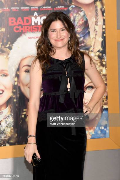 Kathryn Hahn attends the premiere of STX Entertainment's 'A Bad Moms Christmas' at Regency Village Theatre on October 30 2017 in Westwood California