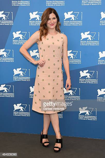 Kathryn Hahn attends the 'She's Funny That Way' - Photocall during the 71st Venice Film Festival on August 29, 2014 in Venice, Italy.