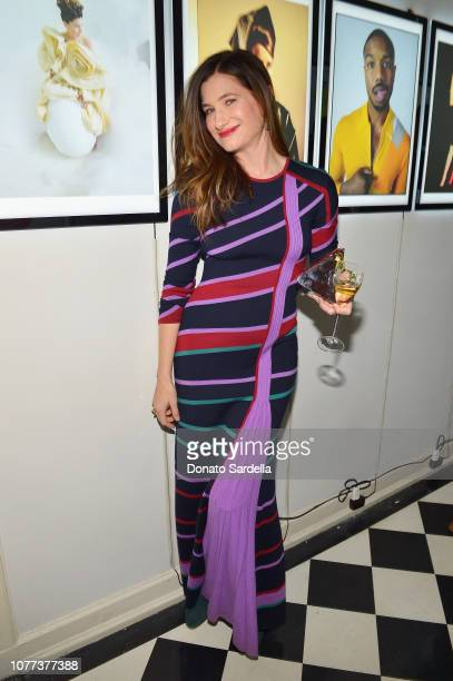 Kathryn Hahn attends W Magazine Celebrates Its 'Best Performances' Portfolio and the Golden Globes with Audi and Giorgio Armani Beauty at Chateau...