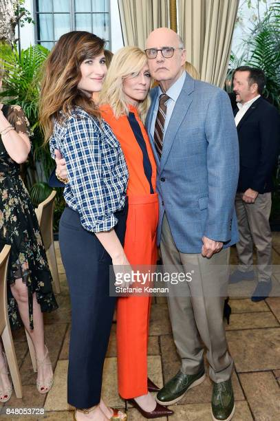 Kathryn Hahn Judith Light and Jeffrey Tambor attend the Audi and Amazon Studios Transparent Nominees Brunch in the garden of The Chateau Marmont on...