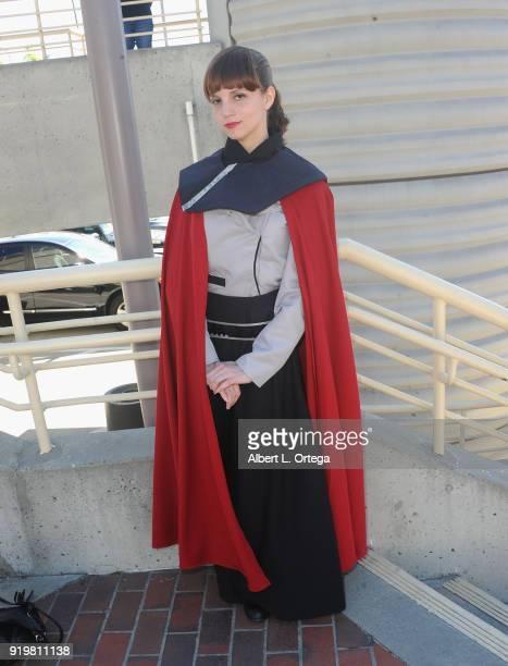 Kathryn Hayden attends day 1 of the 8th Annual Long Beach Comic Expo held at Long Beach Convention Center on February 17 2018 in Long Beach California