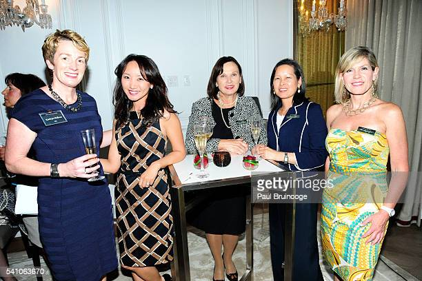 Kathryn Holleran Christina Lee Bonnie BellCurran Laura Trop and Lisa Brannigan attend AIG Private Client Group and Lifestylist Advisory Celebrate the...