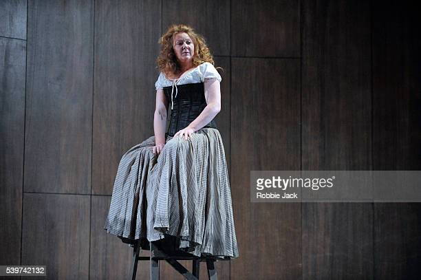 Kathryn Howden as Janet in the Traverse Theatre's production of Rona Munro's play The Last Witch directed by Dominic Hill at the Royal Lyceum Theatre...