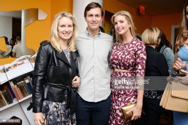 Kathryn Hufschmid Jared Kushner and Ivanka Trump attend 21st Century Fox presents a screening of XMen Days of Future Past at Crosby Street Hotel on...