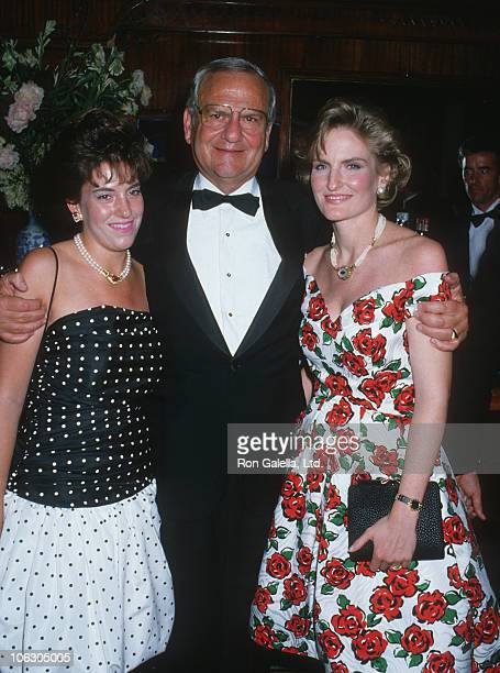 Kathryn Iacocca Lee Iacocca and Lia Iacocca during Steel Magnolias New York City Premiere Party at Puck Building in New York City New York United...