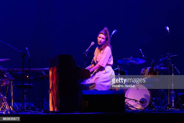 Kathryn Joseph performs live on stage at O2 Academy Glasgow on June 25 2018 in Glasgow Scotland