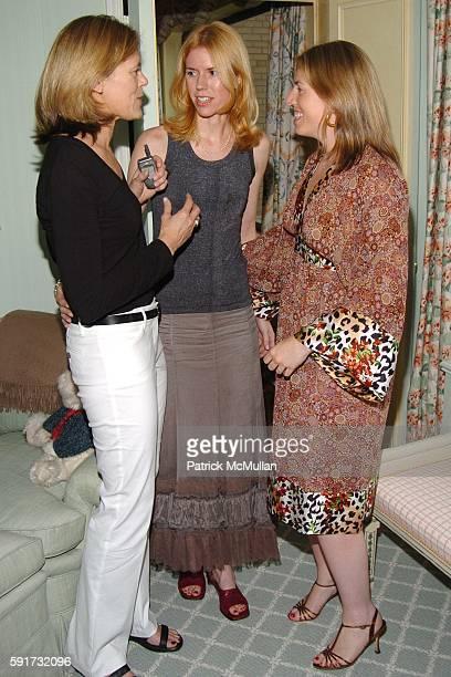 Kathryn Kranhold Wendy Bounds Ashley Schiff== ASHLEY SCHIFF hosts a book party for WENDY BOUNDS' new book Little Chapel on the River Ashley Schiff's...