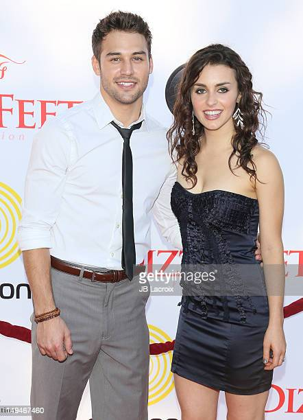 Kathryn McCormick and Ryan Guzman attend the Dizzy Feet Foundation Second 'Celebration of Dance' Gala at Dorothy Chandler Pavilion on July 28 2012 in...