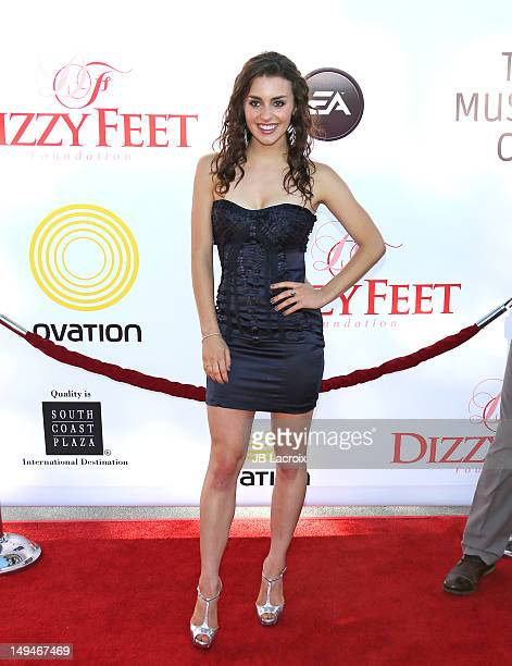 Kathryn McCormick attends the Dizzy Feet Foundation Second 'Celebration of Dance' Gala at Dorothy Chandler Pavilion on July 28, 2012 in Los Angeles,...
