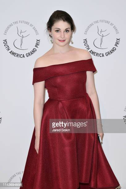 Kathryn Morgan attends YAGP's 20th Anniversary Gala 'Stars Of Today Meets The Stars Of Tomorrow at David Koch Theatre at Lincoln Center on April 18...