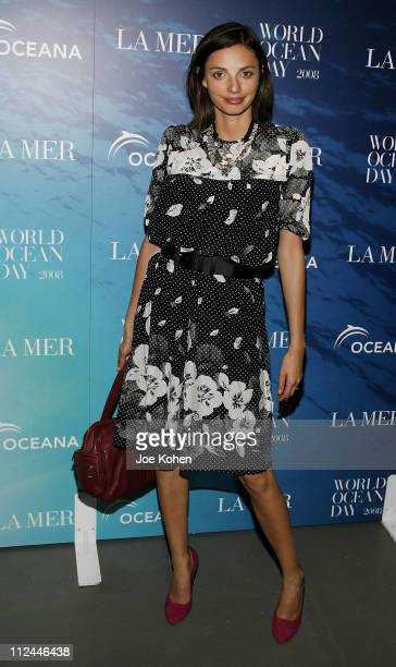Kathryn Neale attends the 2008 World Ocean Day hosted by La Mer and Oceana on June 4 2008 at Rockefeller Center in New York