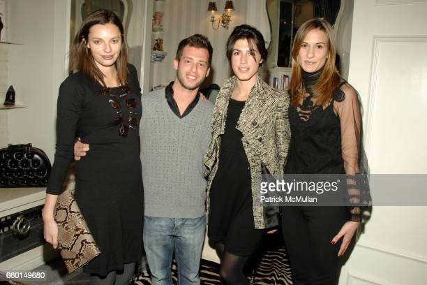 Kathryn Neale Shaffer Jason Salstein Danielle Corona and Alexandra Fritz attend HUNTING SEASON at EDON MANOR Hosted by Kathryn Neale Shaffer and...