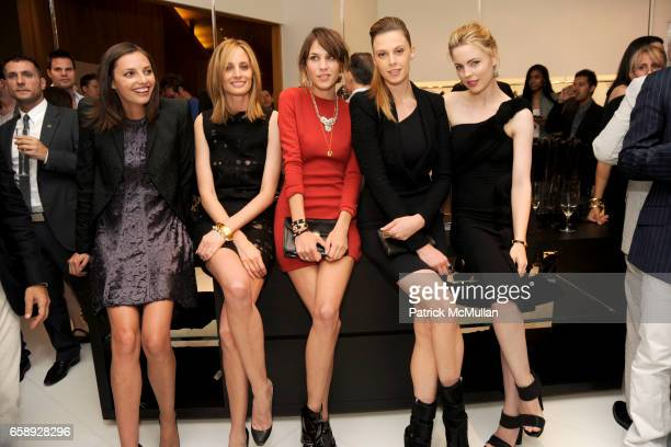 Kathryn Neale Shaffer Lauren Santo Domingo Alexa Chung Elettra Wiedemann and Melissa George attend SAKS FIFTH AVENUE Celebrates the Opening of CALVIN...