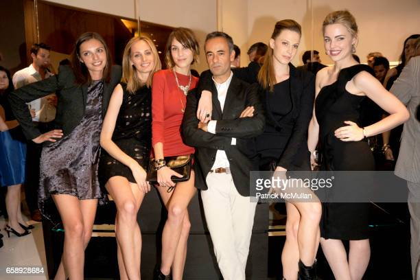 Kathryn Neale Shaffer Lauren Santo Domingo Alexa Chung Francisco Costa Elettra Wiedemann and Melissa George attend SAKS FIFTH AVENUE Celebrates the...