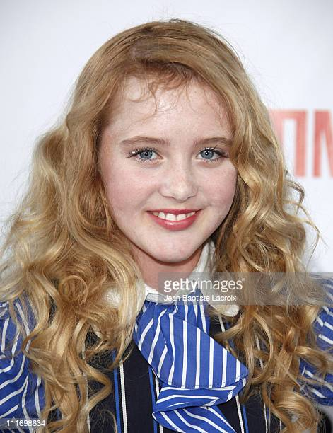 Kathryn Newton arrives at the NBC and Universal's 2009 TCA Press Tour AllStar Party at the Huntington Library on August 3 2009 in Pasadena California