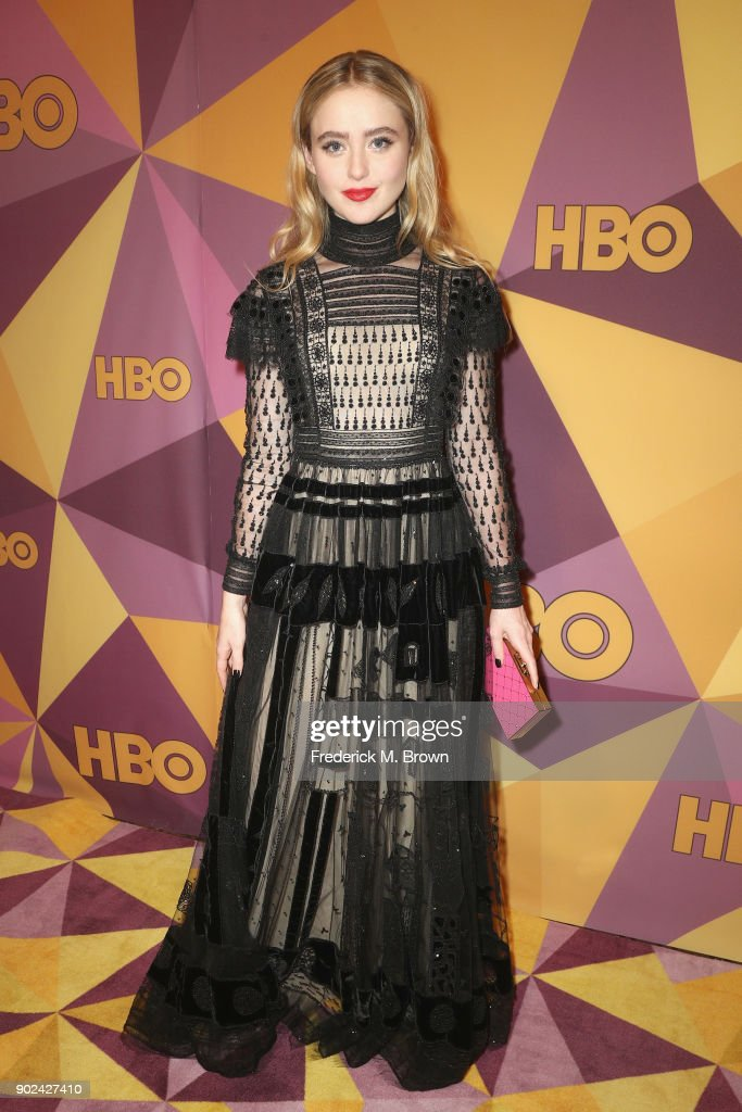 Kathryn Newton attends HBO's Official Golden Globe Awards After Party at Circa 55 Restaurant on January 7, 2018 in Los Angeles, California.