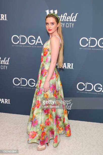 Kathryn Newton attends the 22nd CDGA at The Beverly Hilton Hotel on January 28 2020 in Beverly Hills California