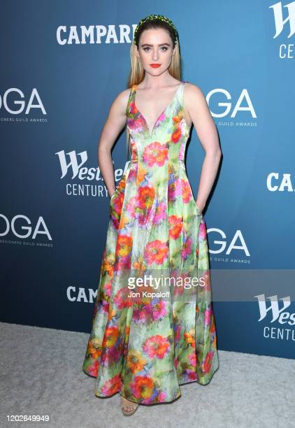Kathryn Newton attends the 22nd Costume Designers Guild Awards at The Beverly Hilton Hotel on January 28 2020 in Beverly Hills California