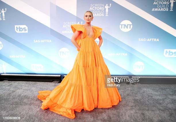 Kathryn Newton attends the 26th Annual Screen Actors Guild Awards at The Shrine Auditorium on January 19 2020 in Los Angeles California