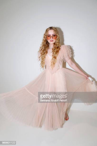 Kathryn Newton attends the Christian Dior Haute Couture Fall Winter 2018/2019 show as part of Paris Fashion Week on July 2 2018 in Paris France