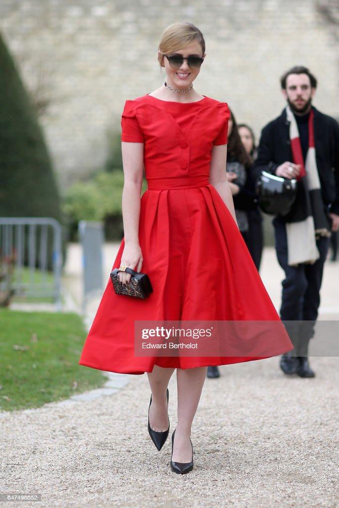 Christian Dior : Arrivals - Paris Fashion Week Womenswear Fall/Winter 2017/2018