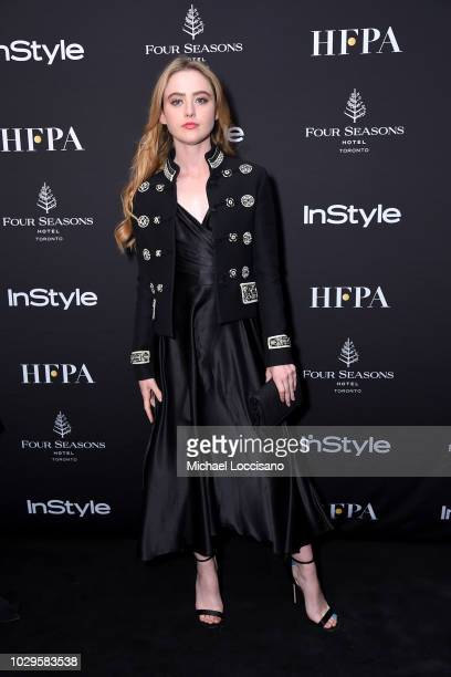 Kathryn Newton attends The Hollywood Foreign Press Association and InStyle Party during 2018 Toronto International Film Festival at Four Seasons...