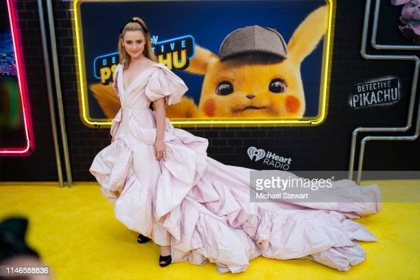 Kathryn Newton attends the 'Pokemon Detective Pikachu' US Premiere at Times Square on May 02 2019 in New York City
