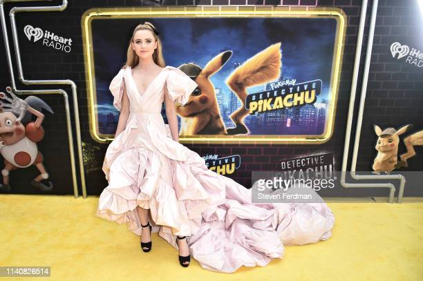 Kathryn Newton attends the premiere of Pokemon Detective Pikachu at Military Island in Times Square on May 2 2019 in New York City