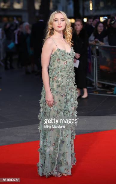 Kathryn Newton attends the UK Premiere of Three Billboards Outside Ebbing Missouri at the closing night gala of the 61st BFI London Film Festival on...