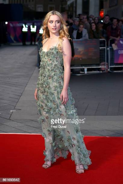 Kathryn Newton attends the UK Premiere of 'Three Billboards Outside Ebbing Missouri' at the closing night gala of the 61st BFI London Film Festival...