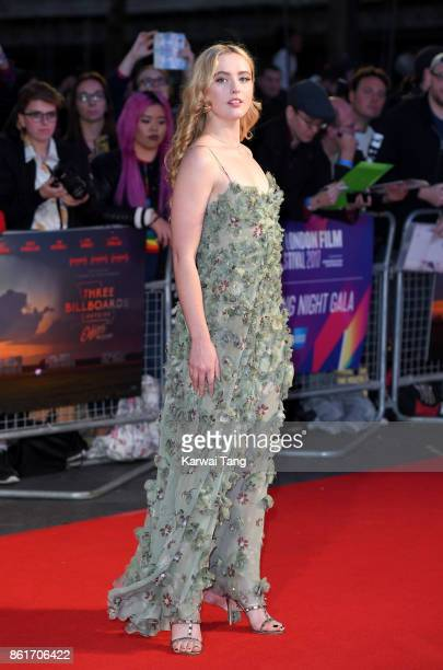 Kathryn Newton attends the UK Premiere of 'Three Billboards Outside Ebbing Missouri' during the closing night gala of the 61st BFI London Film...