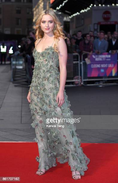Kathryn Newton attends the UK Premiere of Three Billboards Outside Ebbing Missouri during the closing night gala of the 61st BFI London Film Festival...