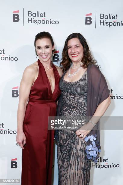 Kathryn RossNash and Nancy Turano attend the Ballet Hispanico Celebrates TrailBlazing Latina Leaders Rita Moreno and Nina Vaca at 2017 Carnaval Gala...
