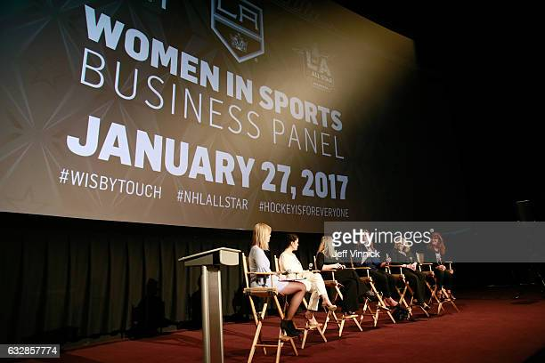 Kathryn Tappen, host, NBC Sports, Alyssa Milano, entrepreneur, actress, philanthropist & founder, Touch by Alyssa Milano, Heidi Browning, Chief...