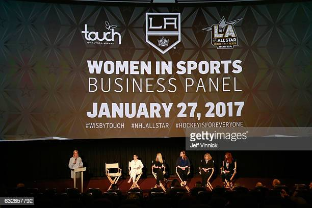 Kathryn Tappen host NBC Sports Alyssa Milano entrepreneur actress philanthropist founder Touch by Alyssa Milano Heidi Browning Chief Marketing...